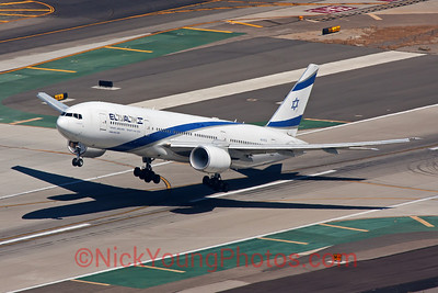 El-Al Boeing 777-200ER air to air