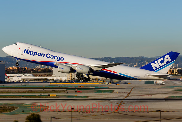 Nippon Cargo Airlines Boeing 747-8F