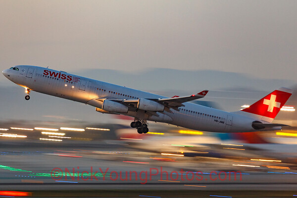 Swiss International Airlines Airbus A340-300
