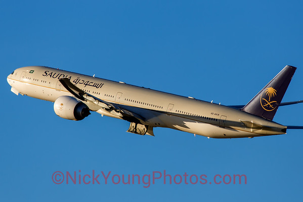 Saudia Boeing 777-300ER