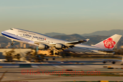 China Airlines Boeing 747-400