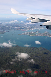 Auckland City from the air