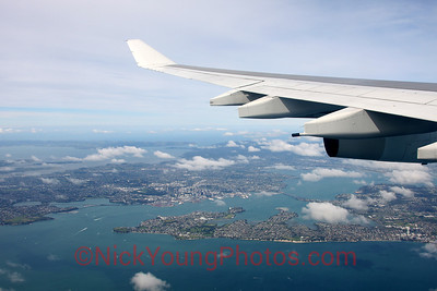 Auckland City from above