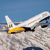 Winter tourism / Innsbruck airport, Austria