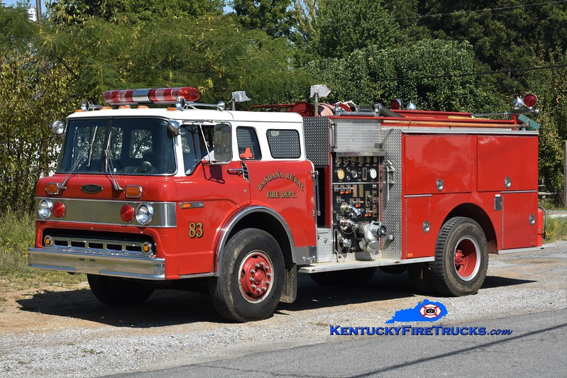 Bandana  Engine 83<br /> x-Pasco County, FL<br /> 1986 Ford C-8000/Pierce 1000/750<br /> Greg Stapleton photo