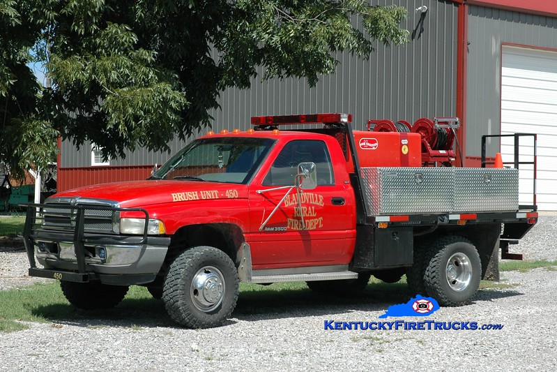<center> Blandville  Brush 450 <br> 1995 Dodge Ram 4x4/Marco 250/250 <br> Greg Stapleton photo </center>