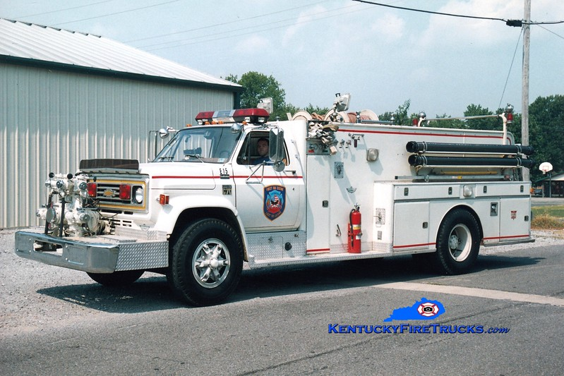 <center> La Center Rural Engine 15 <br> 1978 Chevy/American 1000/1500 <br> Greg Stapleton photo </center>