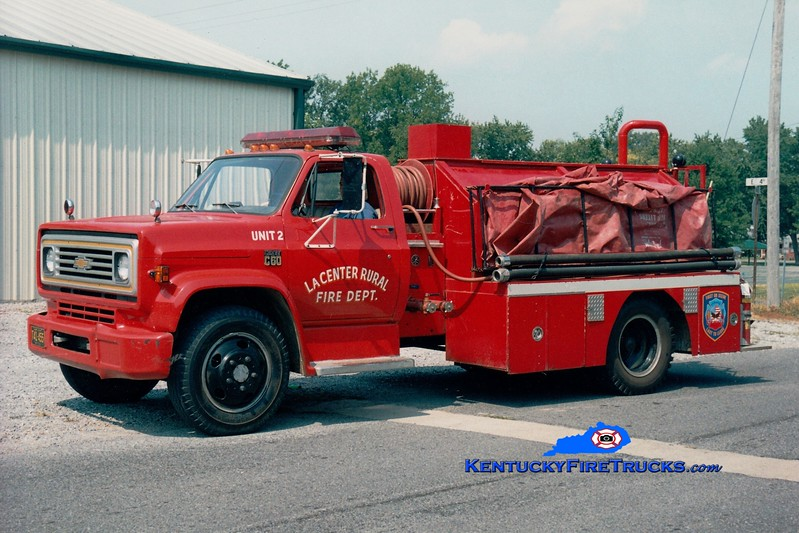 <center> La Center Rural Tanker 12 <br> 1972 Chevy/Local 250/1000 <br> Greg Stapleton photo </center>