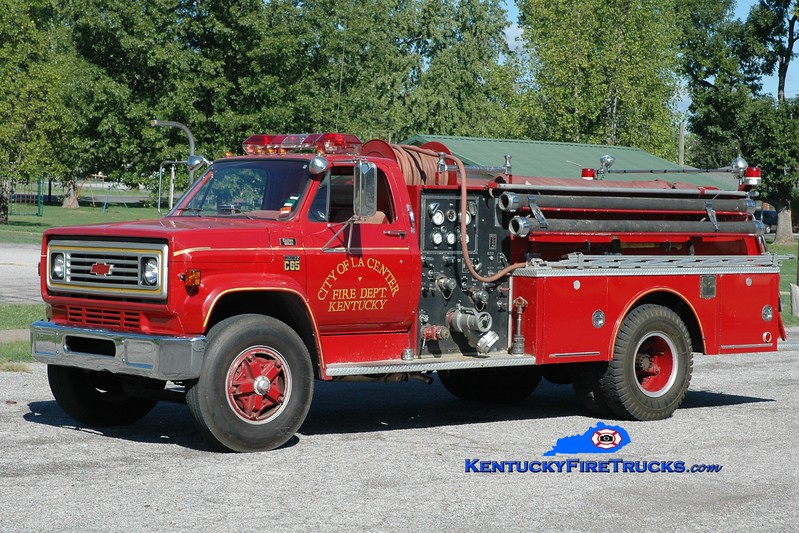 <center> La Center City Engine 12 <br> 1978 Chevy C65/Boardman 750/750 <br> Greg Stapleton photo </center>