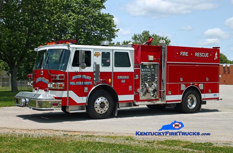 Austin-Tracy  Engine 68<br /> x-Wilder, KY <br /> 1992 Sutphen Deluge 1750/750<br /> Kent Parrish photo