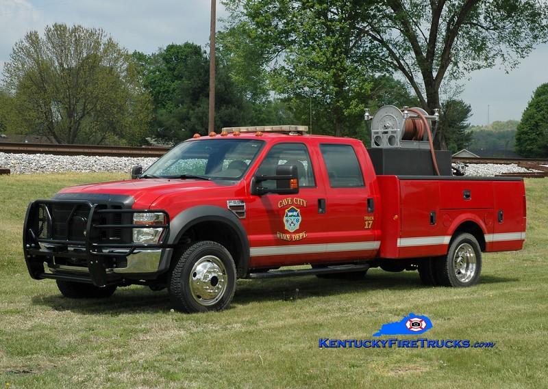 Cave City  Truck 17<br /> 2008 Ford F-550 4x4/Knapheide 250/250<br /> Greg Stapleton photo