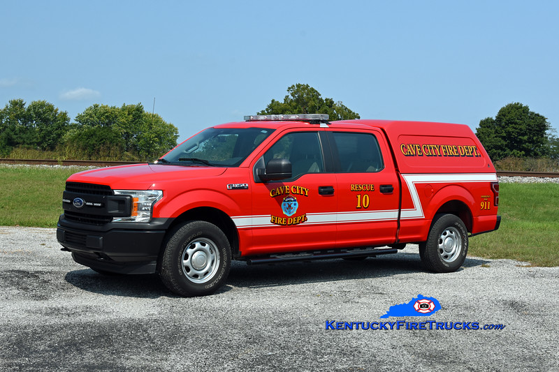Cave City Rescue 10<br /> 2020 Ford F-150 4x4/ARE<br /> Kent Parrish photo