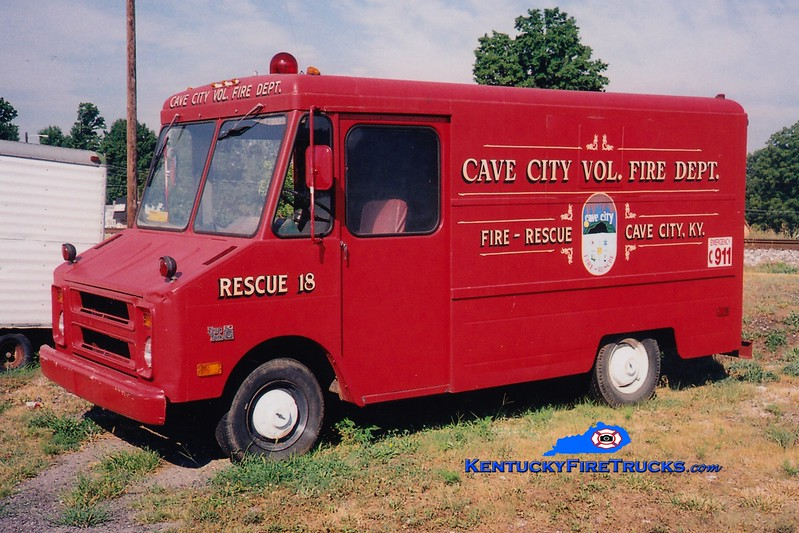 RETIRED <br /> Cave City  Rescue 18<br /> 1980 Chevy <br /> Greg Stapleton photo