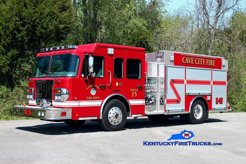 <center> Cave City  Rescue 15  <br> 2012 Spartan Metro Star-X ERV 1500/1000 <br> Kent Parrish photo </center>