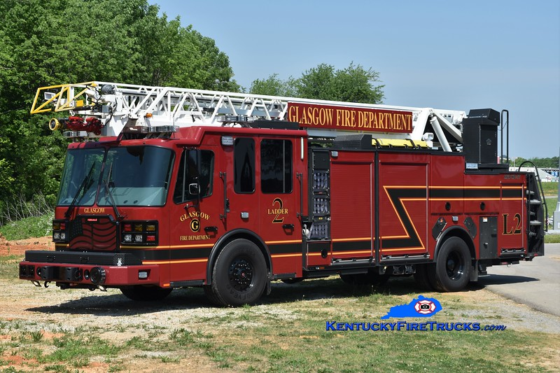 Glasgow  Ladder 2<br /> 2017 Ferrara Cinder 2000/500/77' <br /> Greg Stapleton photo