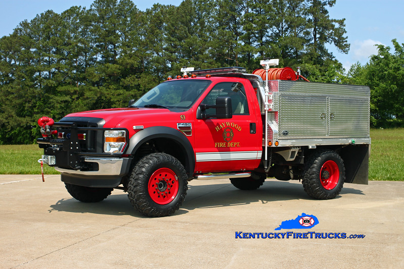 Haywood  Brush 53<br /> 2007 Ford F-450 4x4/Wynn/2015 250/300<br /> Kent Parrish photo