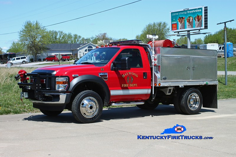 <center> Haywood  Brush 53 <br> 2007 Ford F-450 4x4/Wynn 250/300 <br> Kent Parrish photo </center>