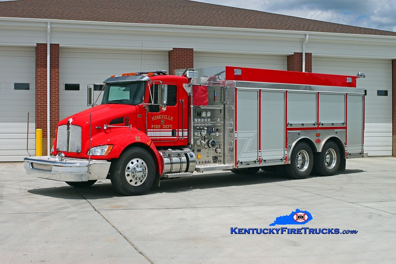 <center> Hiseville  Tanker 32 <br> 2013 Kenworth T-300/Deep South 750/2500 <br> Kent Parrish photo </center>