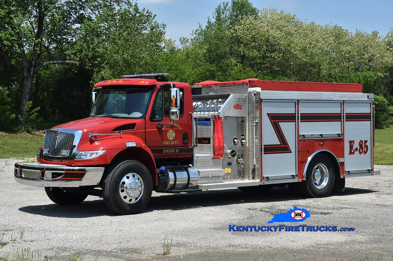 South Barren  Engine 85<br /> 2017 International 4400/Deep South 1250/1000<br /> Greg Stapleton photo