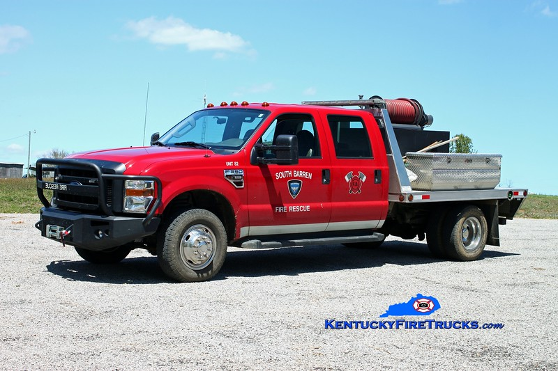 <center> South Barren  Brush 82 <br> 2009 Ford F-350 4x4/Trailer World/Fast Attack 250/250 <br> Kent Parrish photo </center>