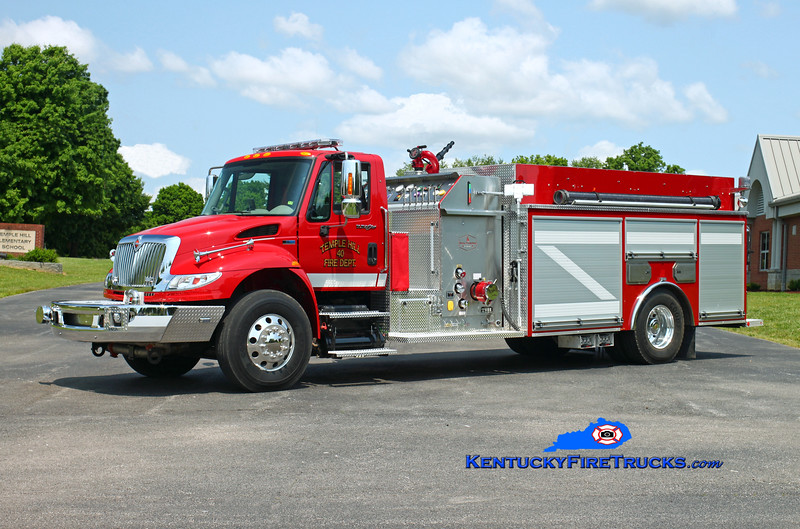 Temple Hill  Engine 40<br /> 2015 International 4400/Southern Fire Svcs 1250/1500/30<br /> Kent Parrish photo
