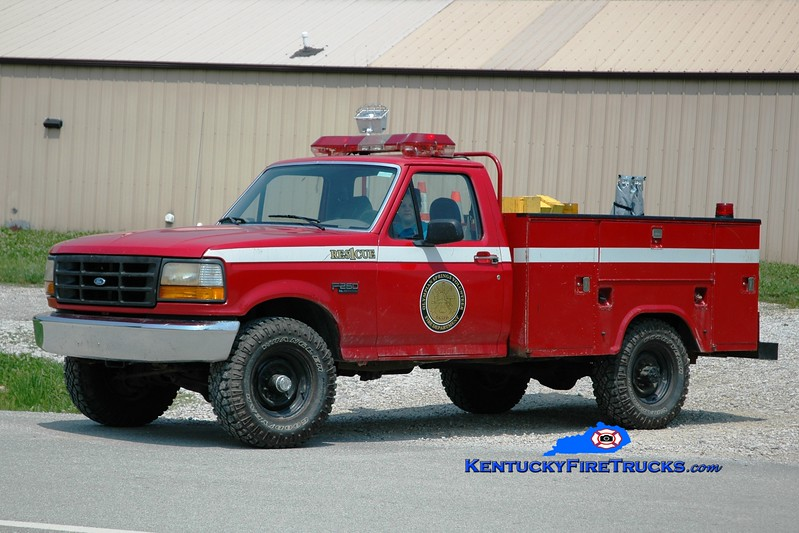 <center> Olympian Springs  Rescue 1 <br> 2003 Ford F-350 4x4/Reading  <br> Greg Stapleton photo </center>