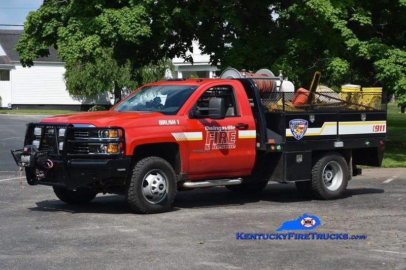 Owingsville  Brush 1<br /> 2005 Chevy 3500 4x4/CM 250/250/10<br /> Greg Stapleton photo