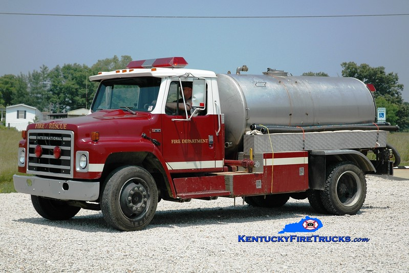 <center> Preston  Tanker 2 <br> x-Bardstown-Nelson County & Salt Lick, KY <br> 1983 International S/Local 0/1500  <br> Greg Stapleton photo </center>