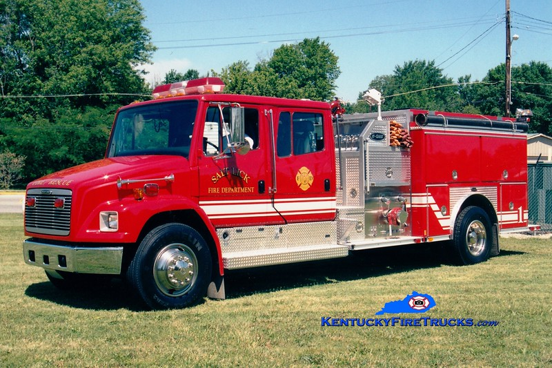 <center> Salt Lick  Engine 1 <br> 1999 Freightliner/FL70E-One 1250/1000  <br> Greg Stapleton photo </center>