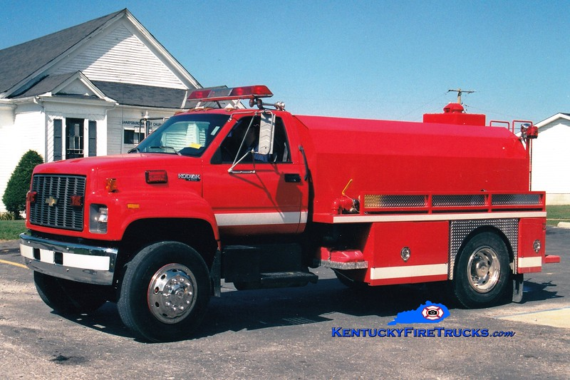 <center> Sharpsburg  Tanker 71  <br> 1993 Chevy/Deepsouth 250/2000 <br> Greg Stapleton photo </center>