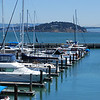 View of Treasure Island from Pier 39, San Francisco, Ca.