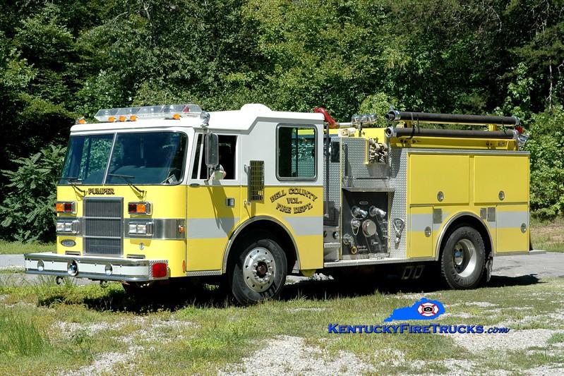 <center> Bell County Pumper 6  <br> x-Hagaman, NY <br> 1992 Pierce Dash 1500/750 <br> Greg Stapleton photo </center>