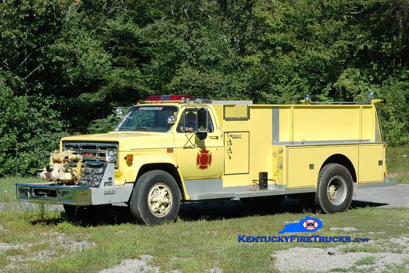 <center> RETIRED <br> Bell County Pumper 6  <br> 1988 GMC/Darley 500/1200 <br> Greg Stapleton photo </center>