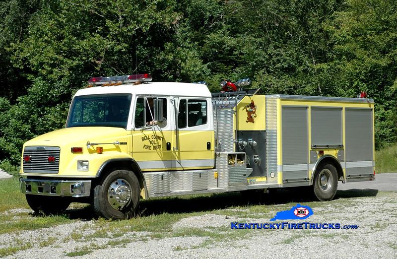 <center> Bell County Pumper 10  <br> 2002 Freightliner FL80/American LaFrance 1250/1000 <br> Greg Stapleton photo </center>