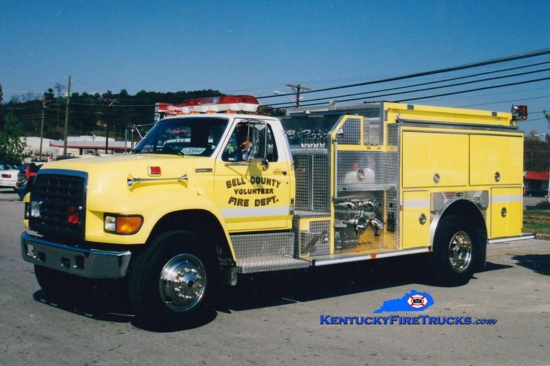<center> Bell County Pumper 8  <br> 1998 Ford F-800/E-One 1250/1000 <br> Greg Stapleton photo </center>