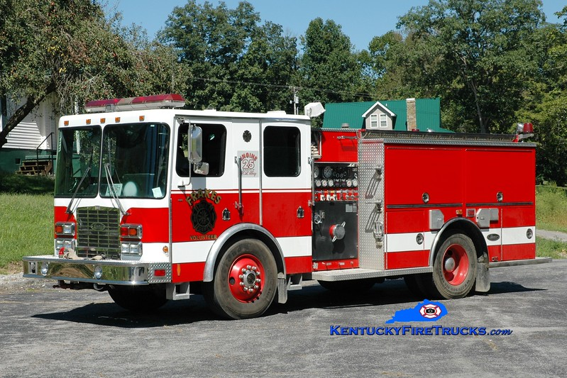 <center> Frakes  Engine 25  <br> 1997 HME 1871SFO/Luverne 1250/750 <br> Greg Stapleton photo </center>