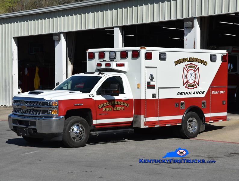 Middlesboro Emergency Care 23 <br /> 2020 Chevy 3500 4x4/Wheeled Coach<br /> Greg Stapleton photo
