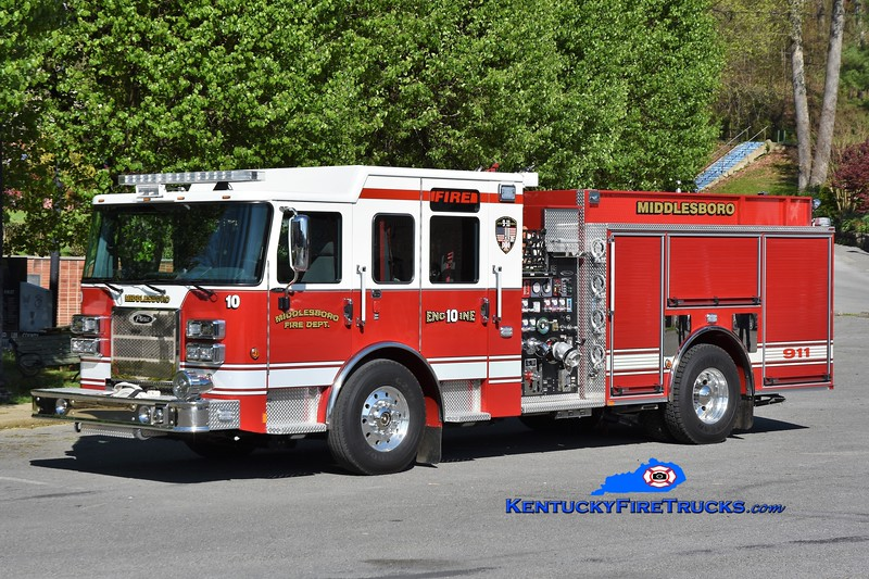 Middlesboro Engine 10<br /> 2020 Pierce Saber 1500/750<br /> Greg Stapleton photo