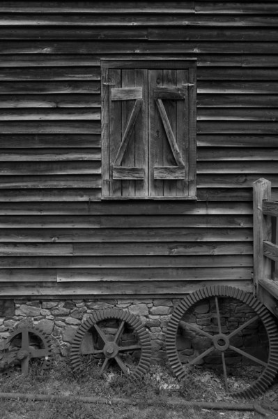 Mill gears, West Point on the Eno<br /> best print size - 8x12 or 12x18