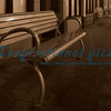 Benches in the night