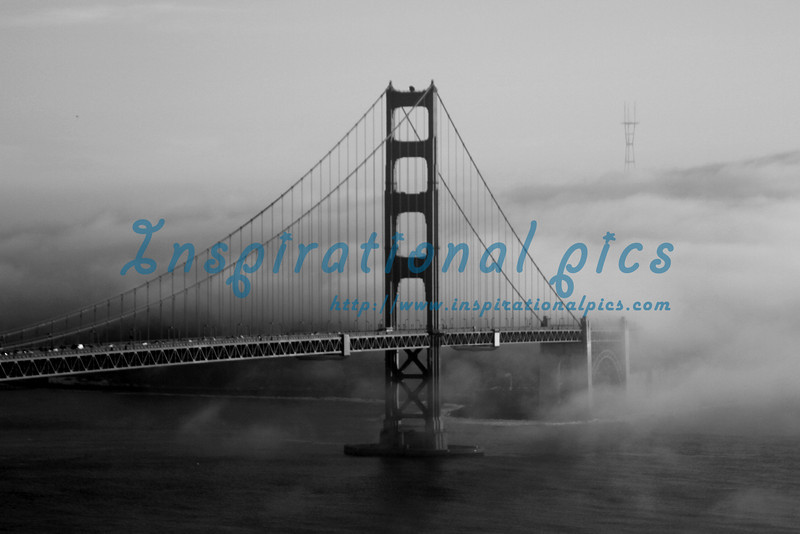 Golden Gate Bridge and Rolling Fog