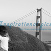 Romance at the Golden Gate Bridge San Francisco