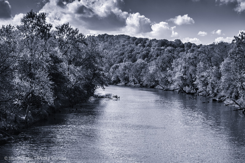 Stones River from Stones River Greenway, Nashville
