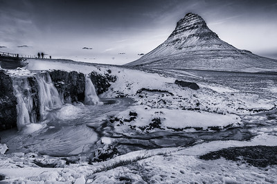 Sunset over Kirkjufell