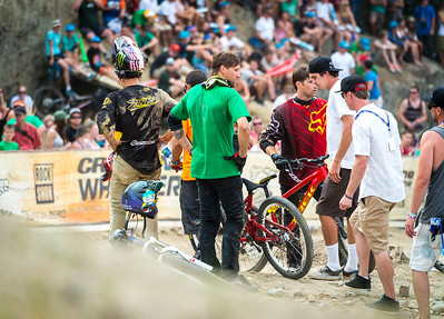 Cam Zink threw a huge back flip nac nac over the 60 foot double at Joyride, unfortunately he didn't land it.