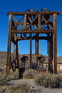 BSP-191101-0007 An example of the mine head stock, notice the two buckets