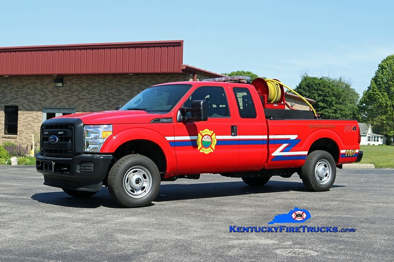 Belleview-McVille  Brush 1167<br /> 2014 Ford F-350 4x4/UPF 200/200<br /> Kent Parrish photo