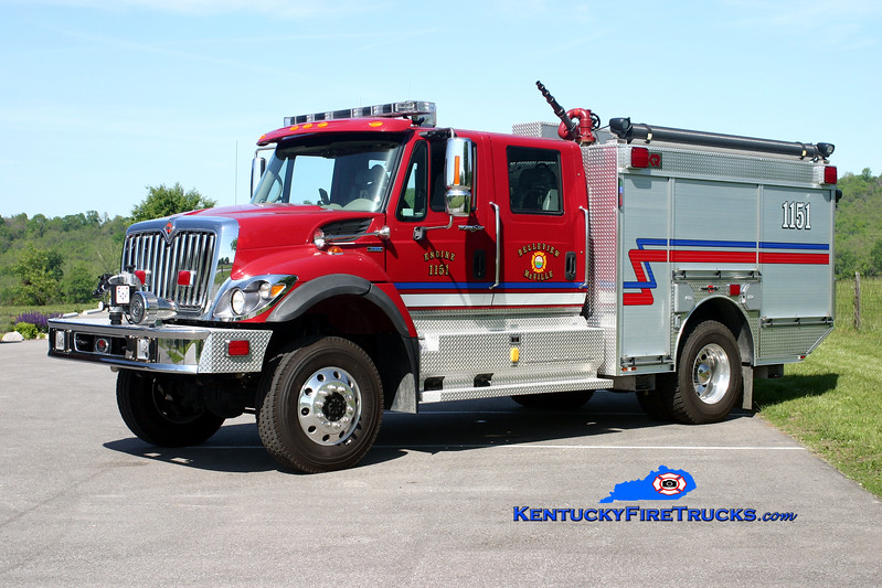 <center> Belleview-McVille  Engine 1151 <br> 2008 International 7400 4x4/Rosenbauer-General 1250/760/30/30 <br> Kent Parrish photo </center>
