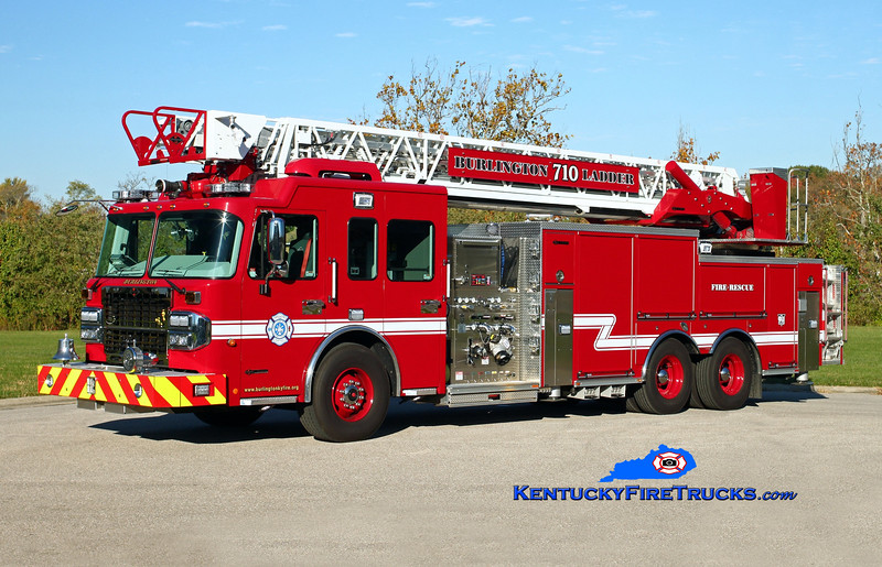 <center> Burlington  Ladder 710 <br> 2015 Spartan Gladiator/Spartan ER 2000/500/103'  <br> Kent Parrish photo </center>