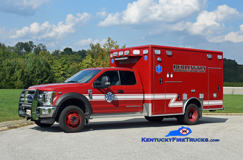 Burlington  Squad 714<br /> 2018 Ford F-450 4x4/Wheeled Coach<br /> Kent Parrish photo